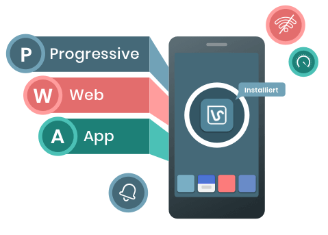 Progressive-Web-App Development | PWA Agency Berlin